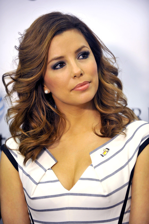 Eva longoria hairstyles chestnut highlights eva longoria hair eva longoria hairstyles pmusecretfo Images
