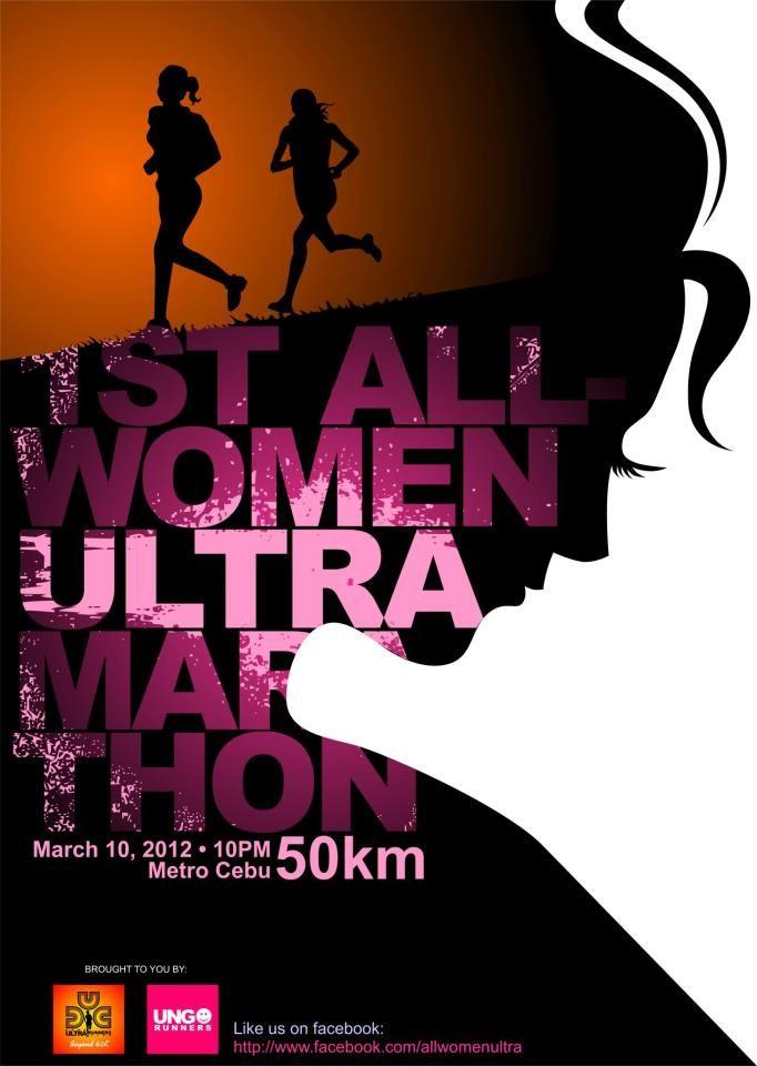 Marathon poster design