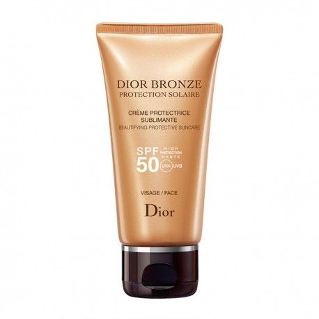 BRONZE PROTECTIVE CREME SUBLIME GLOW FACE BY  DIOR SPF50 50ML