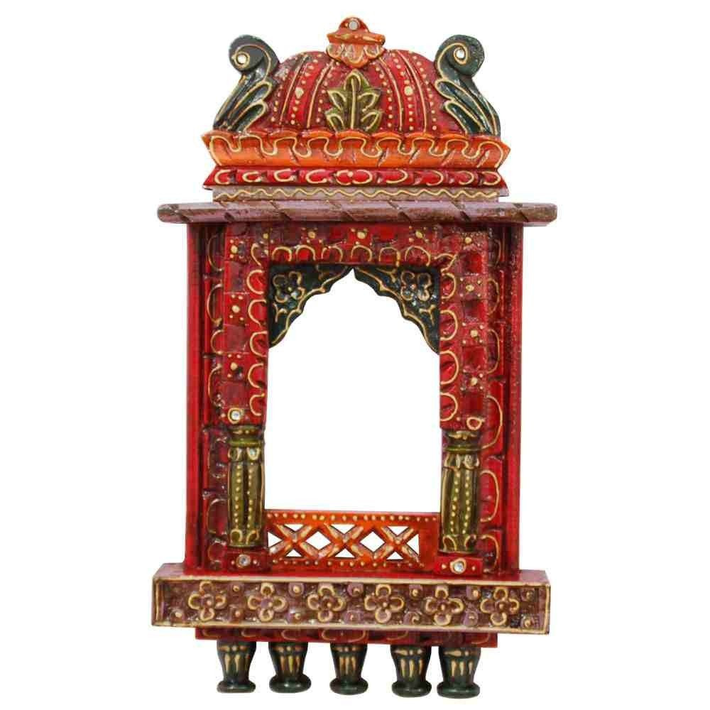 Wooden Jharokha Indian Wall Decor Home Decor Villcart