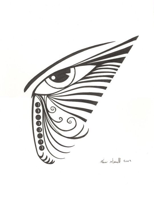 Items similar to original pop eye art black and white abstract drawing on etsy