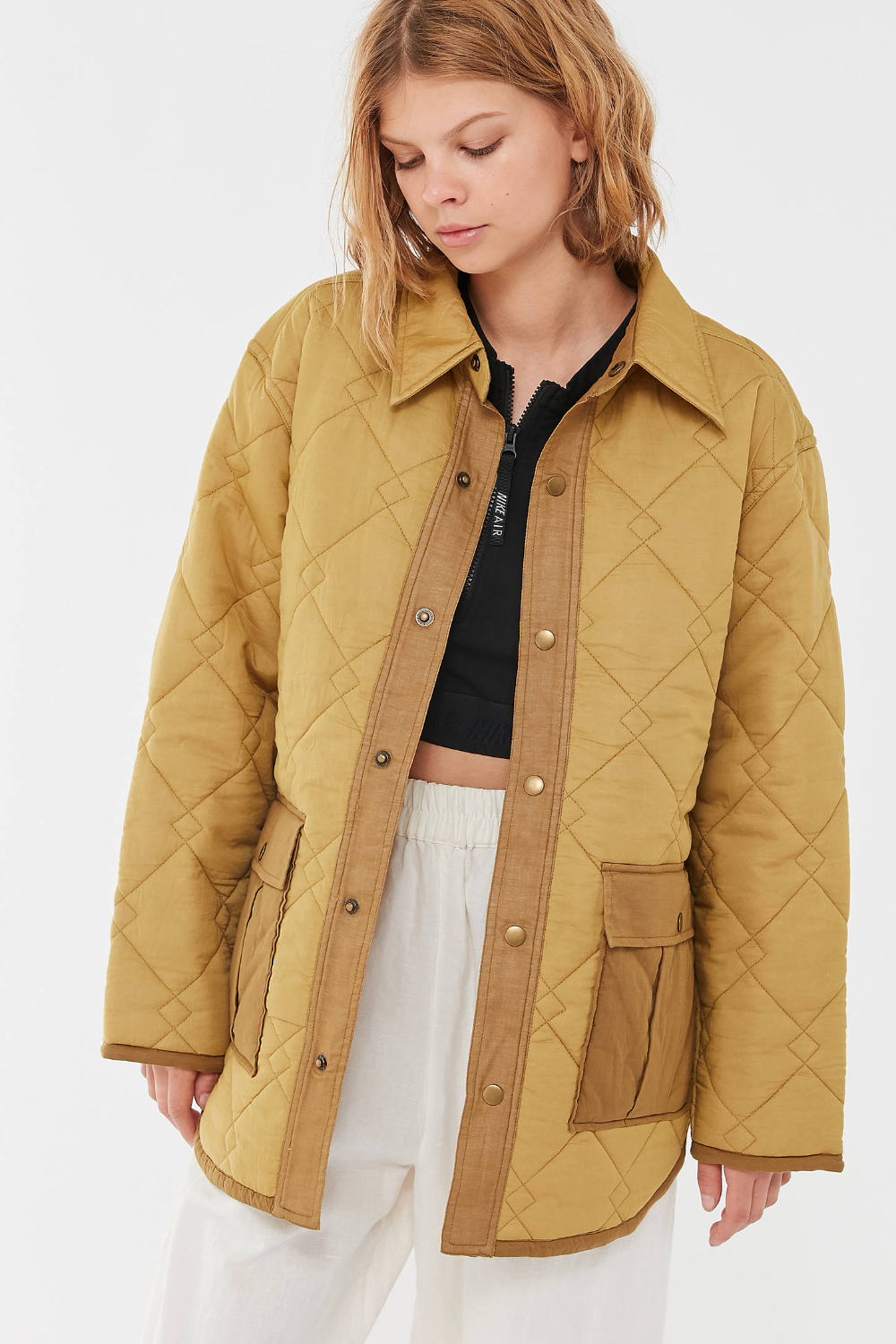 Uo Lita Quilted Shirt Jacket Urban Outfitters Shirt Jacket Quilt Shirt Jackets [ 1500 x 1000 Pixel ]