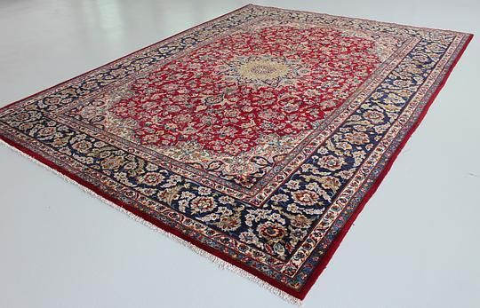 Red Isfahan Area Rug