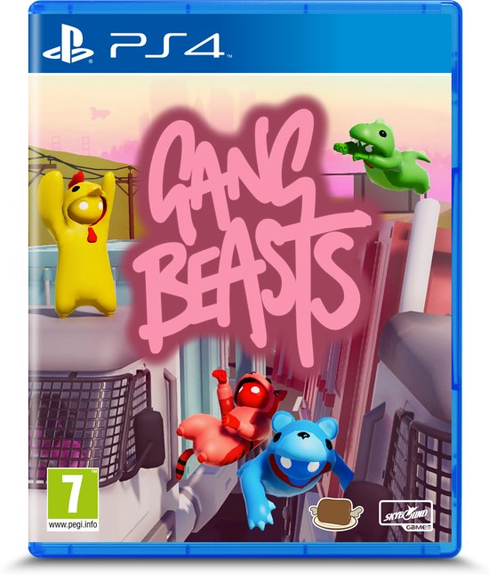 A B Gang Beasts Gang Beasts Game Character Character Design