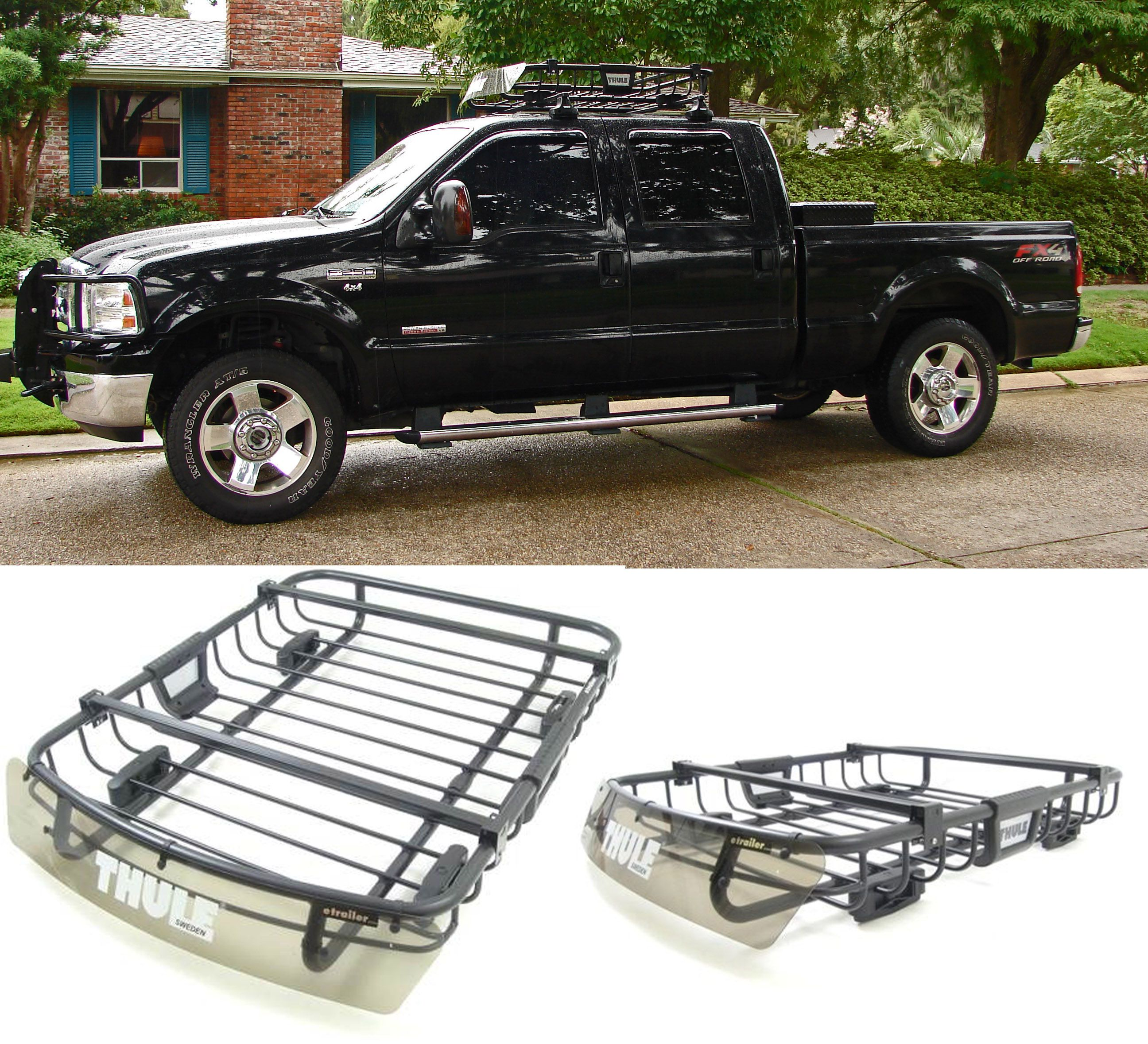 Thule M O A B Roof Top Cargo Carrier The Mother Of All Baskets If You Will Compatible With The Ford F 250 Carry Ex Cargo Carrier Cargo Carriers Roof Rack