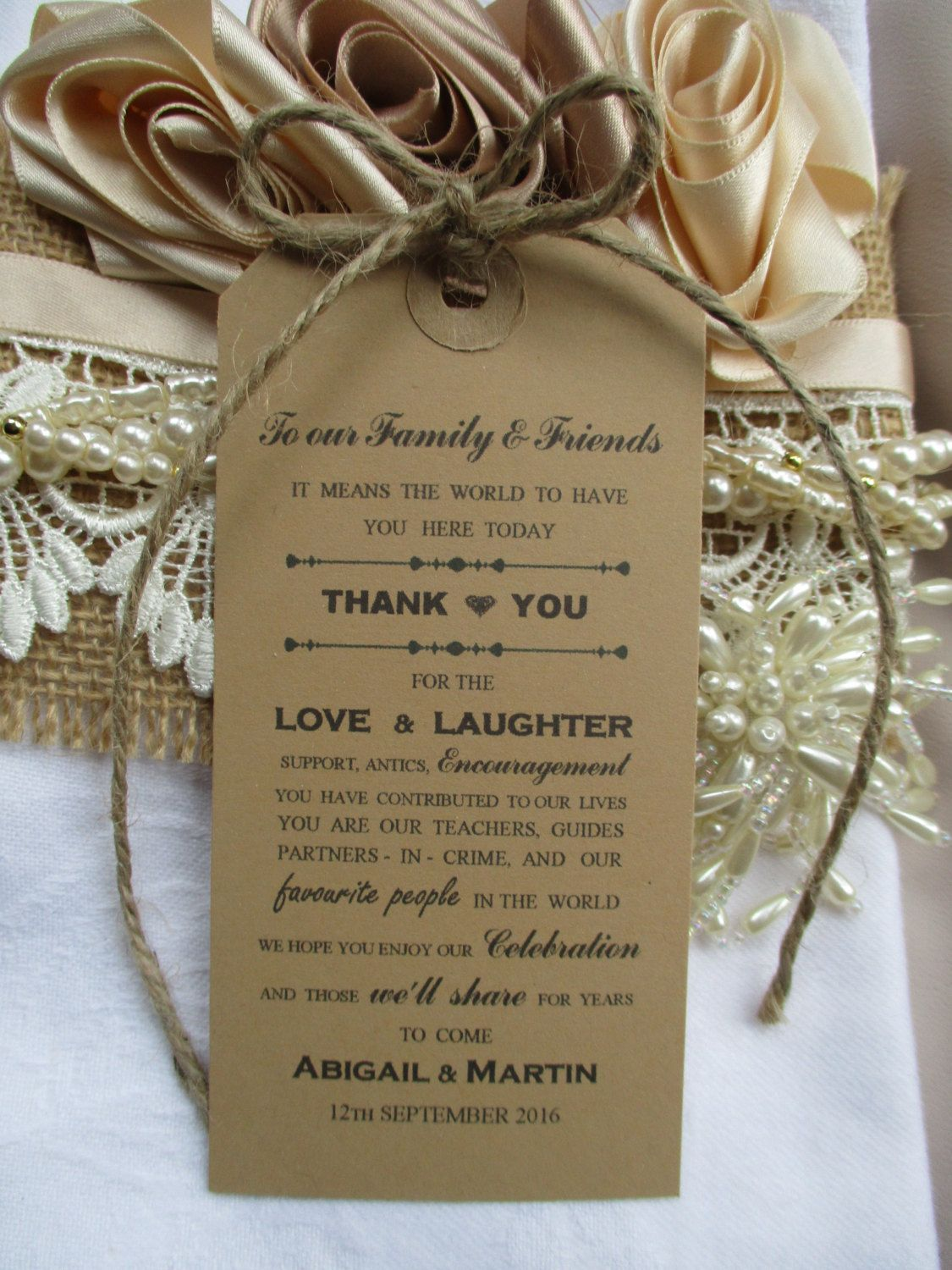 wedding stickers for invitations%0A Thank You To Our Family  u     Friends  Personalised Rustic Kraft Brown Luggage  Label Wedding