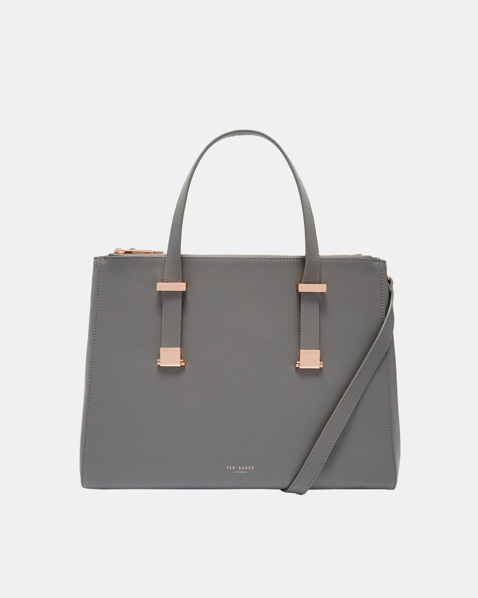 bb34b2157a ALUNAA Large leather pebble grain tote bag #TedToToe | My Style in ...