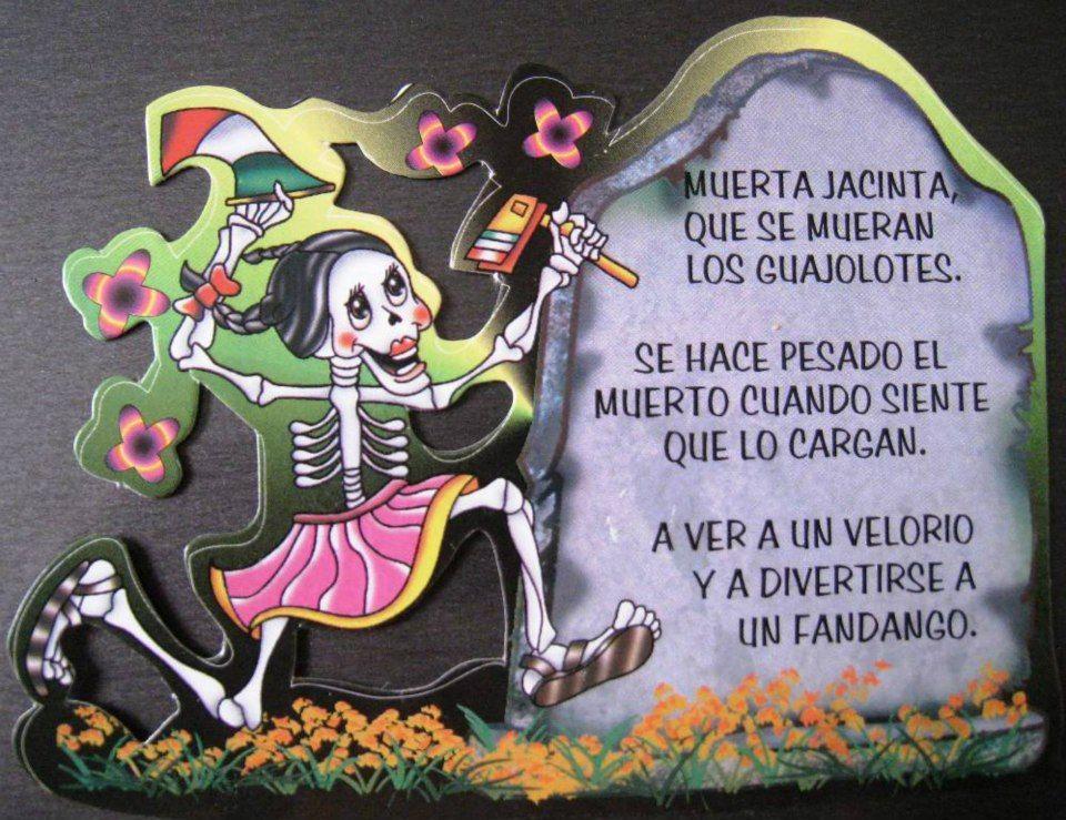 Calaveritas Literarias Calaveras Literarias Dia De Los Fieles