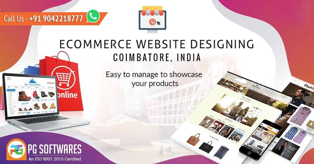 Ecommerce Website Designing Company In Coimbatore India In 2020 Ecommerce Website Design Website Design Company Website Design