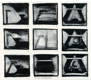 Robert WilsonS Storyboards For Einstein On The Beach   Dp