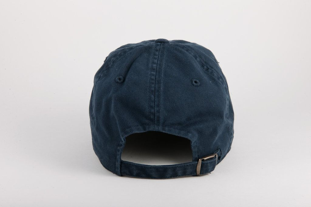 Washed Slouch – navy - American Needle
