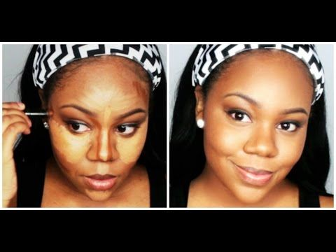 how to easy highlight and contour beginner friendly