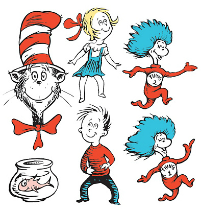 Great For Stick Puppets Or Cake Cupcake Toppers Dr Seuss Baby Shower Dr Seuss Classroom Seuss Classroom
