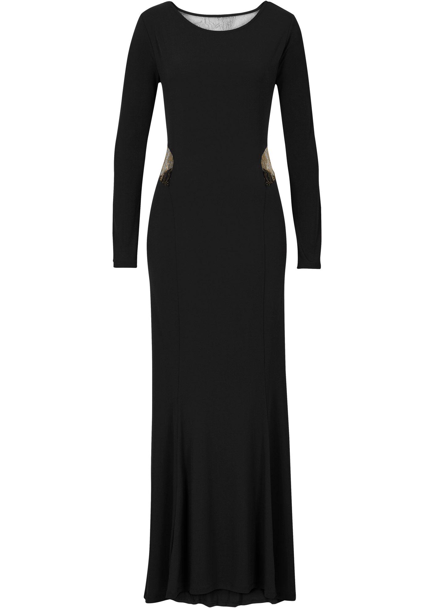 Schalen BH, Cup C  Abendkleid schwarz, Modestil, Abendkleid
