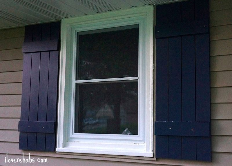 In-Expensive DIY Board and Batten Shutters from iloverehabs.com ...