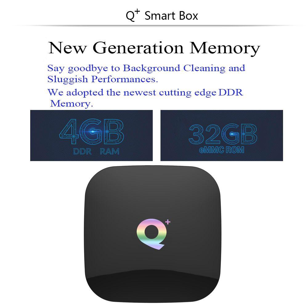 New T95q Plus Android 8 1 Tv Box 4g32g 4g64g H6 Quadcore Cortex A53 Mali T720mp2 Usb3 0 Wifi Hdmi 2 0 6k Pk Mi S
