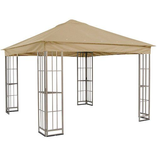 Garden Winds Sj109dn Gazebo Replacement Canopy Riplock 350 Continue To The Product At The Image Link Gazebo Replacement Canopy Pergola Canopy Gazebo