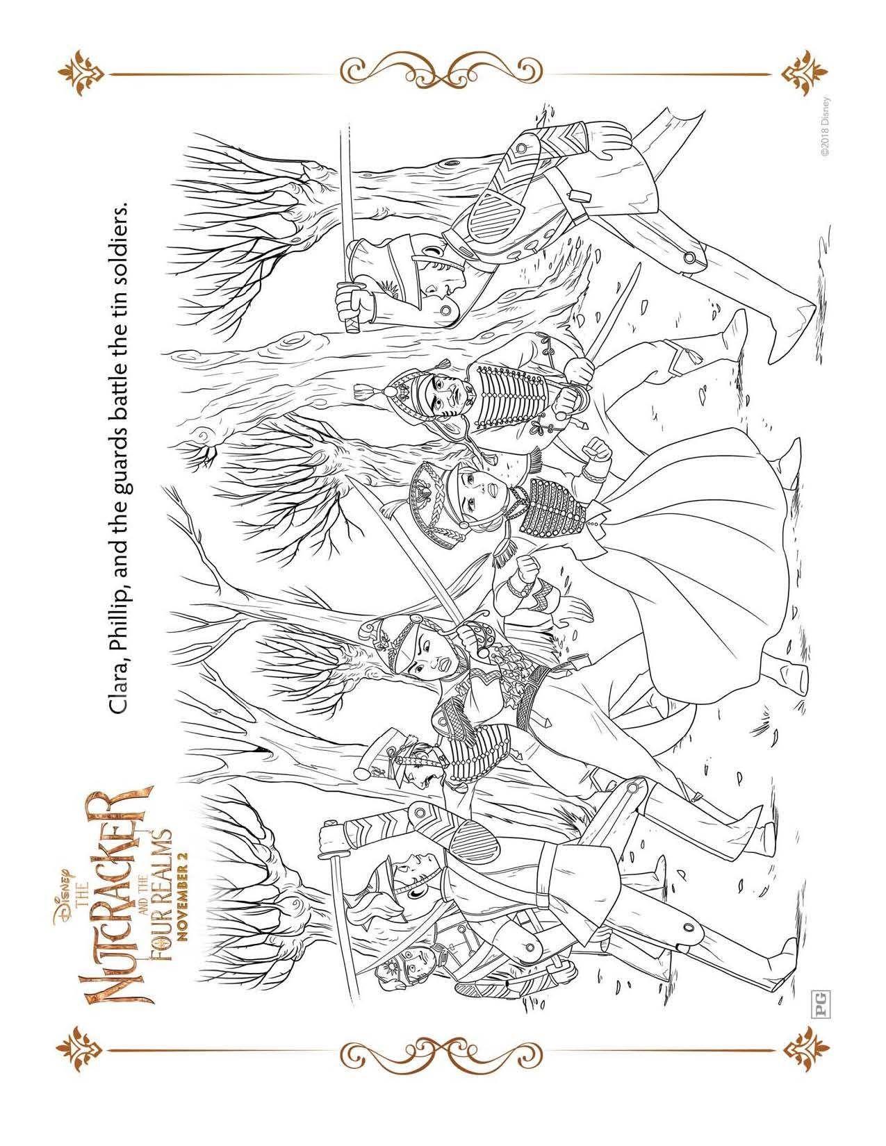 Dibujos Para Colorear Gratis De El Cascanueces Y Los Cuatro Reinos De Disney Hispana Globa Dibujos Para Colorear Gratis Dibujos Para Colorear Colorear Gratis