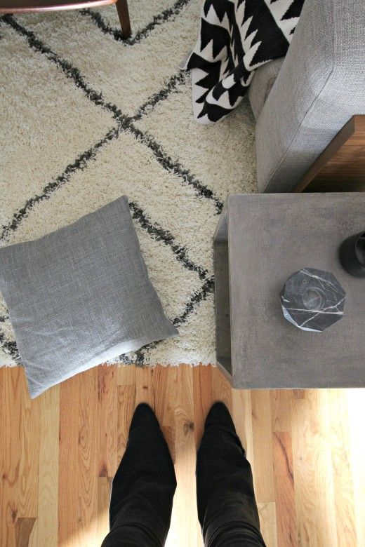 [Actu] Living room rug ideas - Simply grove @simplygrove