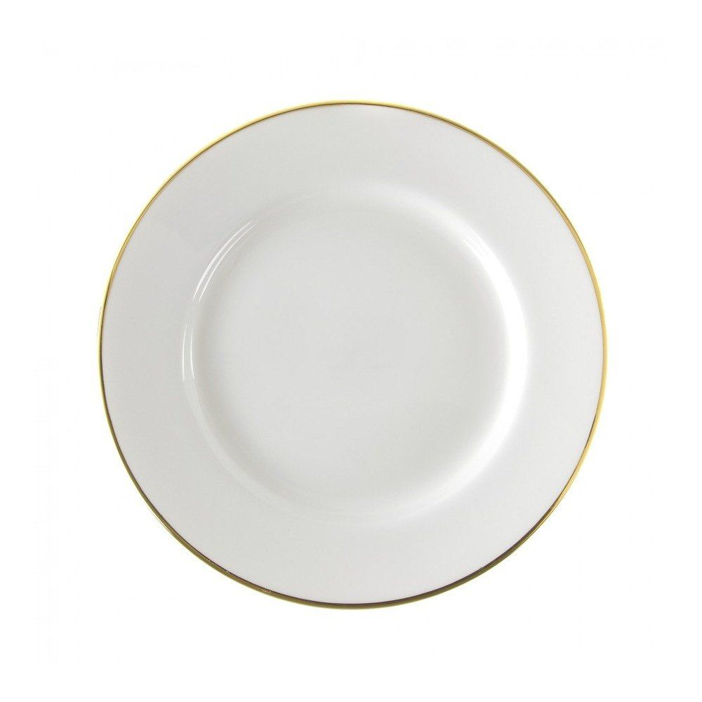 10 Strawberry Street Gl0001 10 3 4 Gold Line Porcelain Plate 24 Case With Images Plates 10 Strawberry Street Gold Line