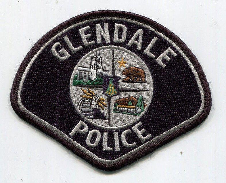 Glendale California Police Patch 4 95 Picclick