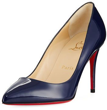 1450901d5 Christian Louboutin Pigalle Follies 85mm Patent Red Sole Pump ...