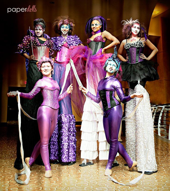 Cirque Style Performers By J And D Entertainment Houston