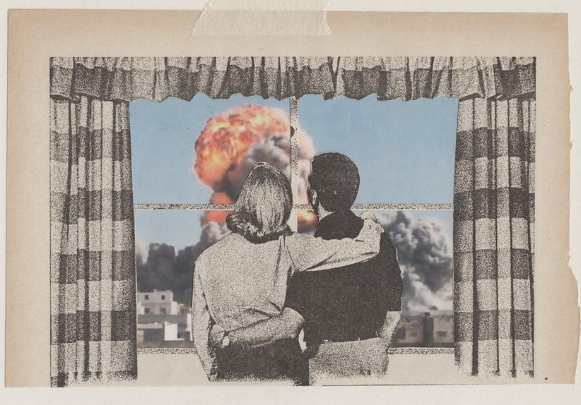 En Images Les Collages Surrealistes De Joe Webb Art Du Collage Surrealisme Les Arts