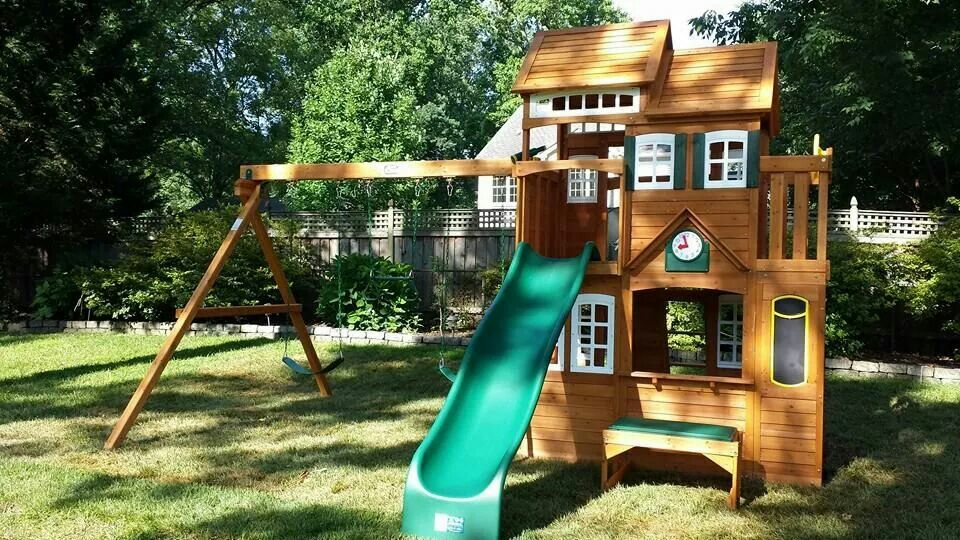 Cedar summit mount forest lodge playset from costco installed in cedar summit mount forest lodge playset from costco installed in falls church va publicscrutiny Image collections