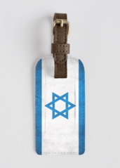 Israel: LEATHER ACCENT TAG