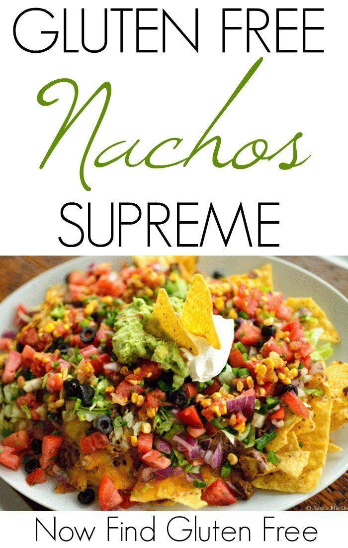 Loaded Nachos Recipe Gluten free nachos, Food recipes