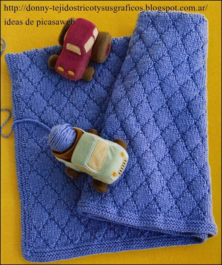 Manta Mantillas Tejidas A Dos Agujas Tricot Baby Knitting Patterns Free Knitted Baby Blankets Knitting Patterns Free
