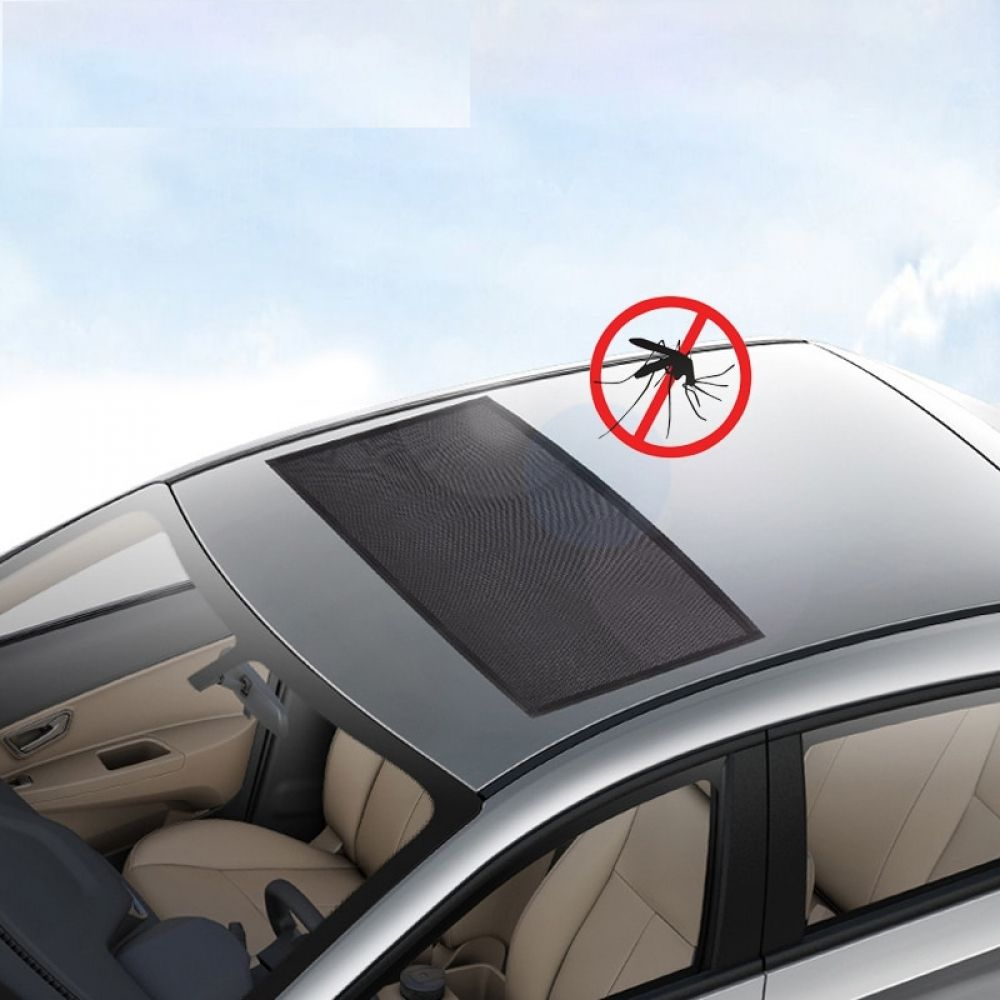 Car Sunroof Window Cover Sunshade Curtain Uv Protection Shield Sun Shade Mosquito Dust Protection Vortexmall Car Front Window Coverings Car