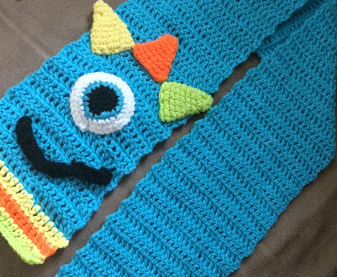 Monster Scarf   Cuellos y bufandas   Pinterest