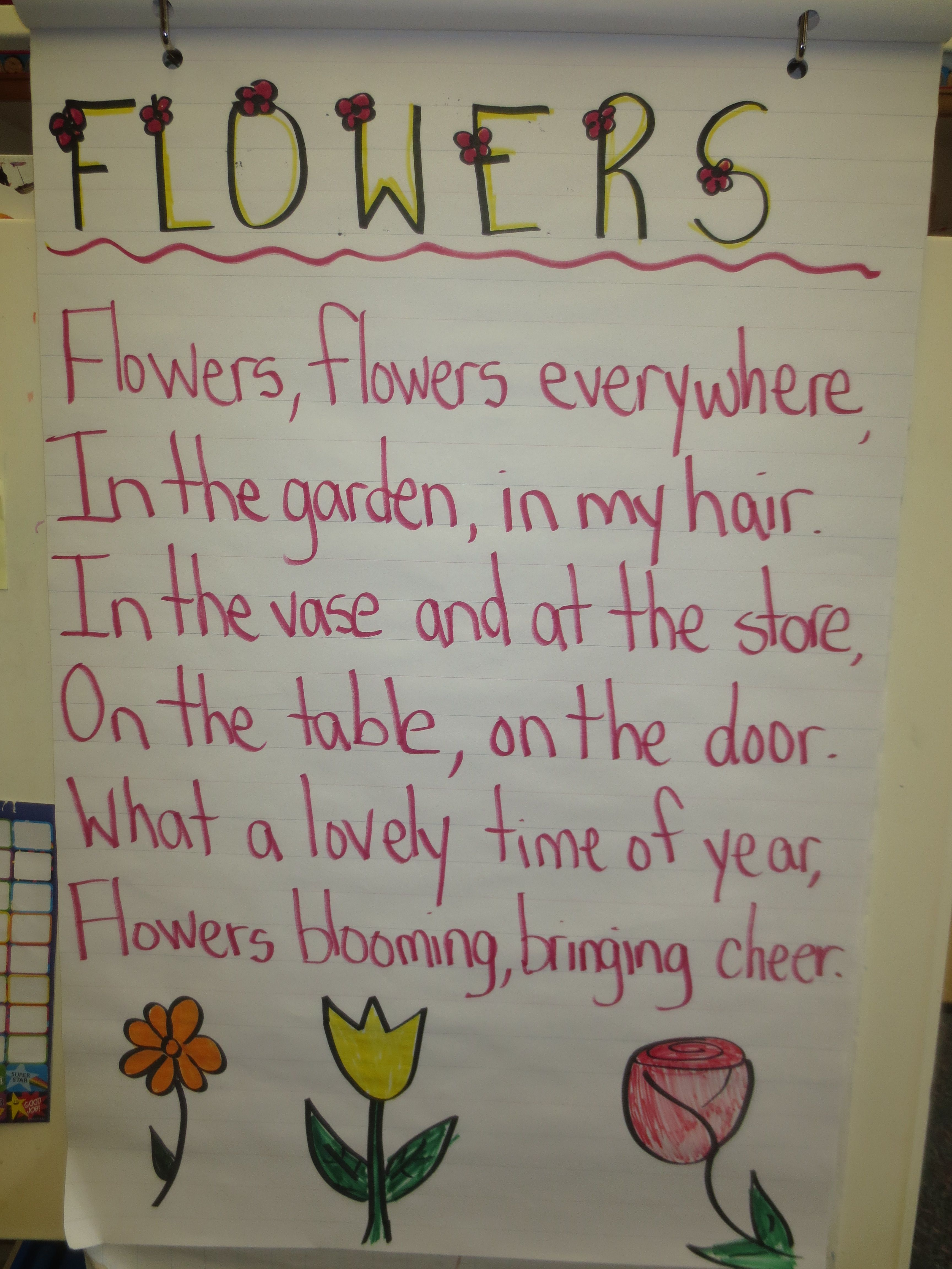 flowers poems for kids my blog enjoy teaching english