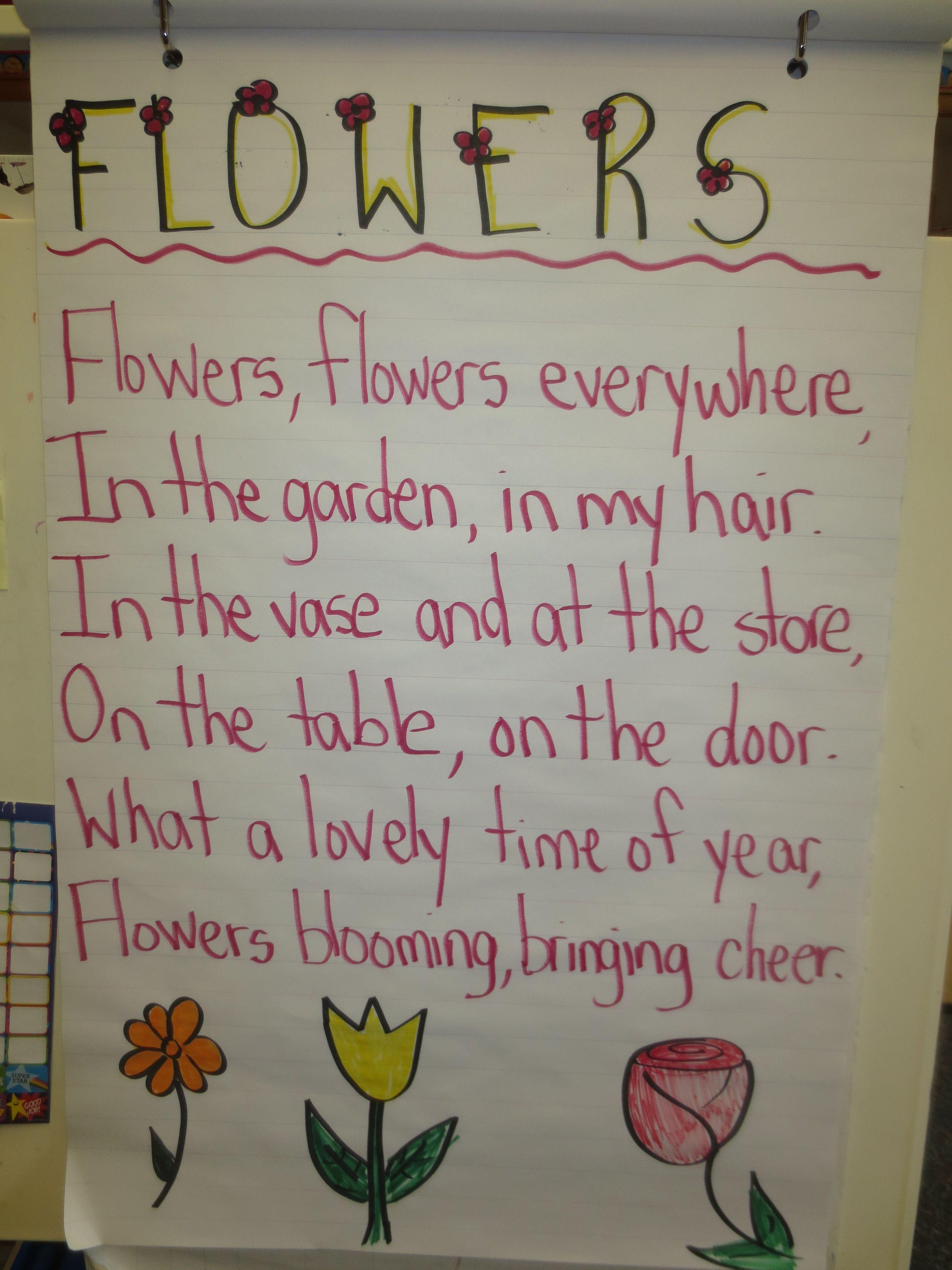 Flower Poem