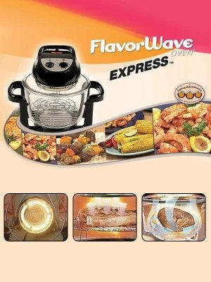 Flavorwave Express Flavorwave Turbo Oven Pork Recipes