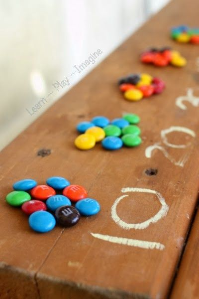 Learn how to count with candies my kiddos! Isn't that cool? Start counting slowly and if you think you have made a mistake, tell it to your friend to count them over. Fun, right?