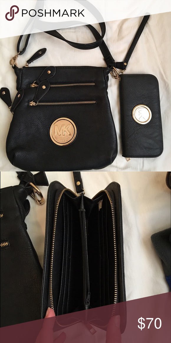 Mk Side Bag Wallet Imitation Bags Crossbody