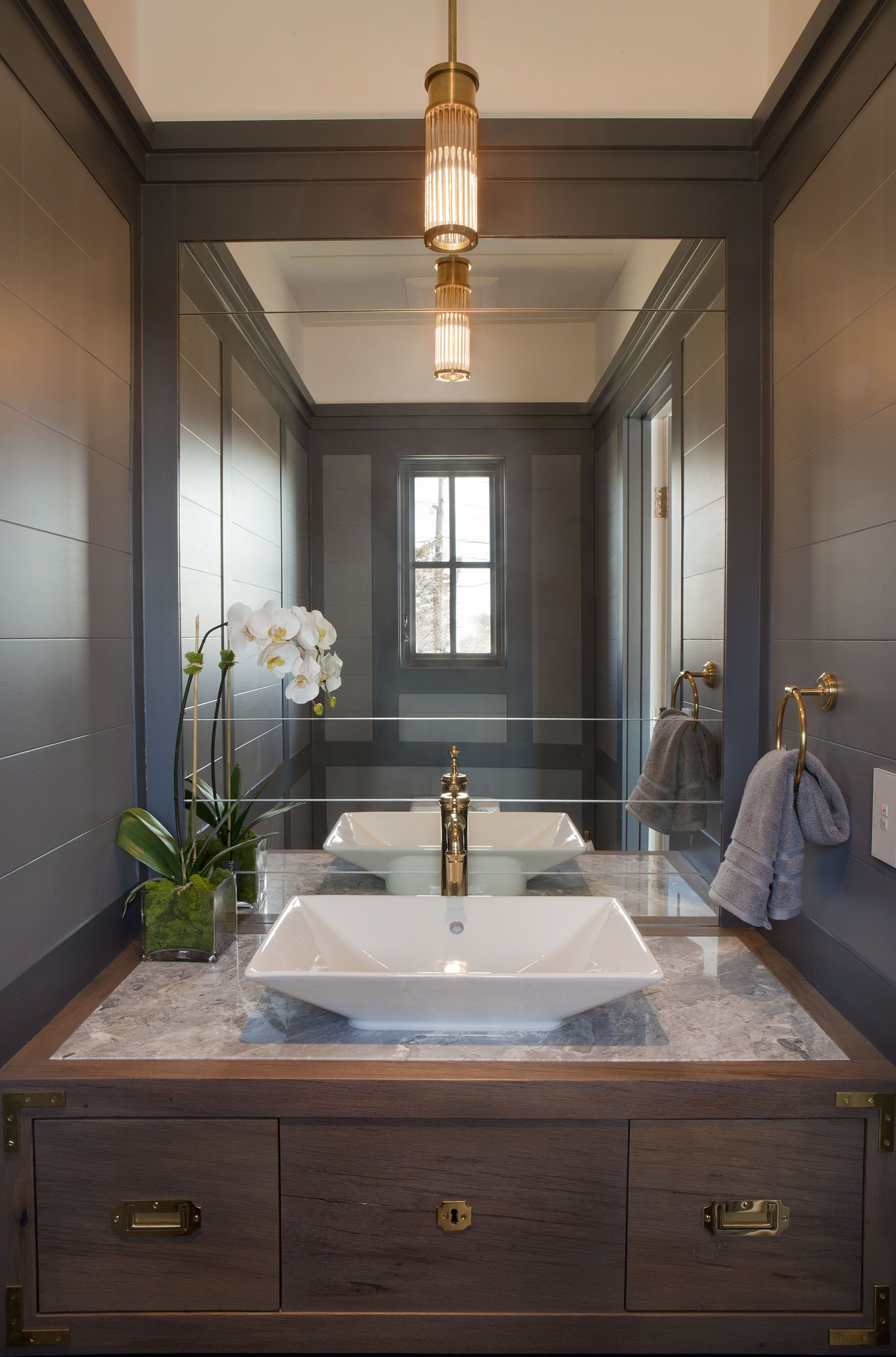 Powder Room                                                          © Christopher Gallo Photography