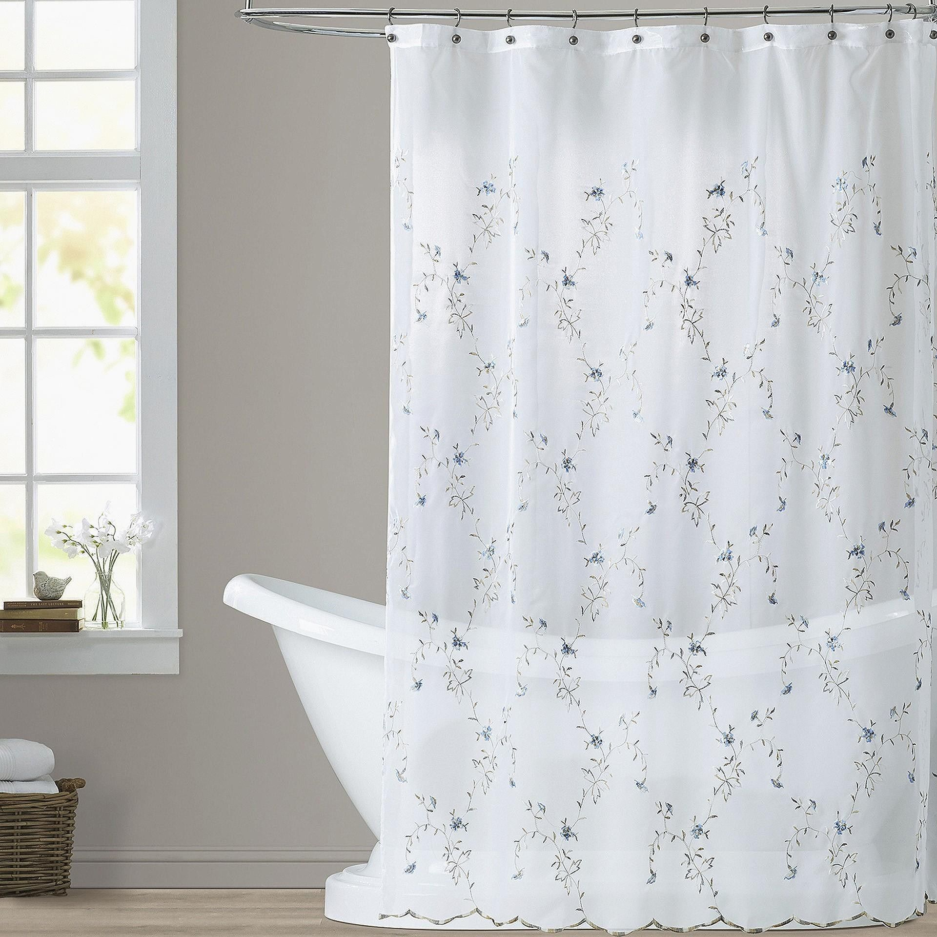 Unique How Long Is The Average Shower Curtain