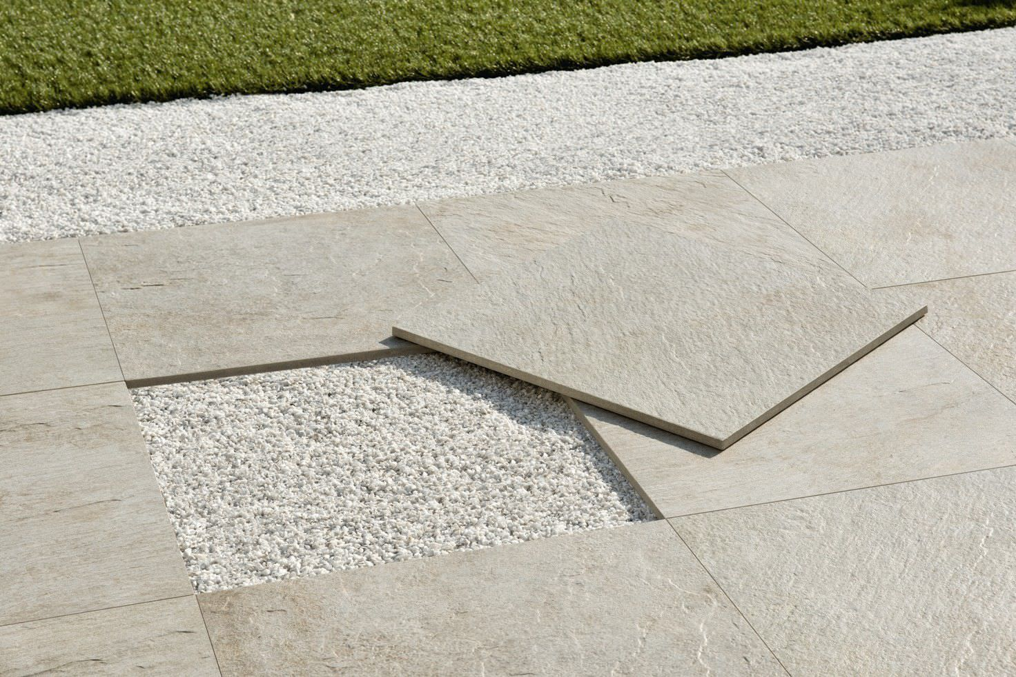 Baldosa pavimento exterior gres porcelanico antideslizante - Pavimentos para exteriores ...
