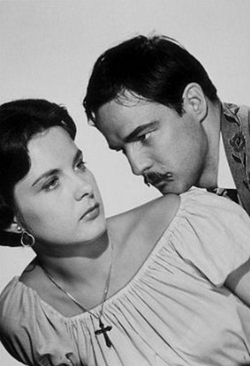 Jean Peters Marlon Brando DIEULOIS
