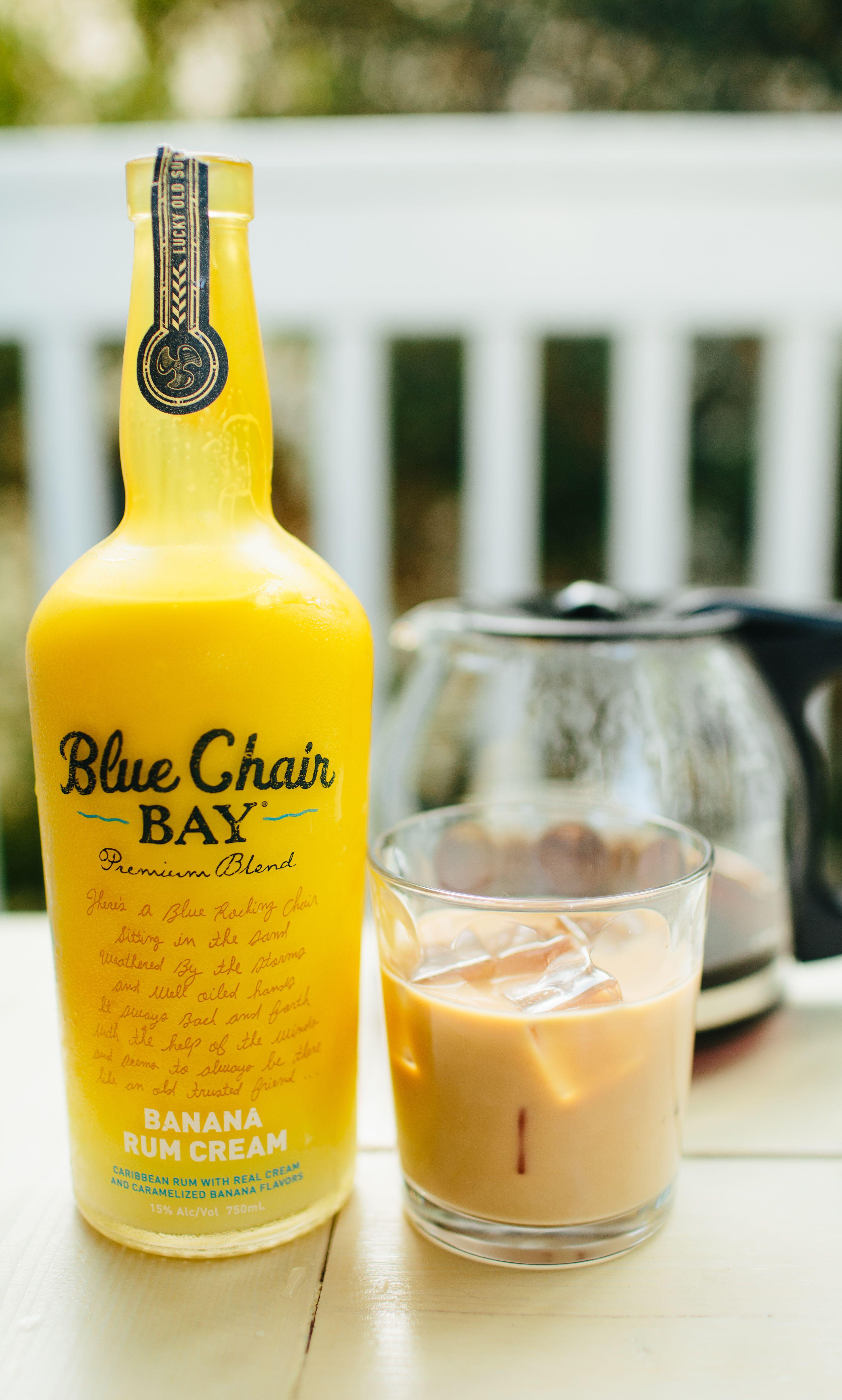 ISLAND COFFEE COCKTAIL 2 oz Blue Chair Bay Banana Rum Cream