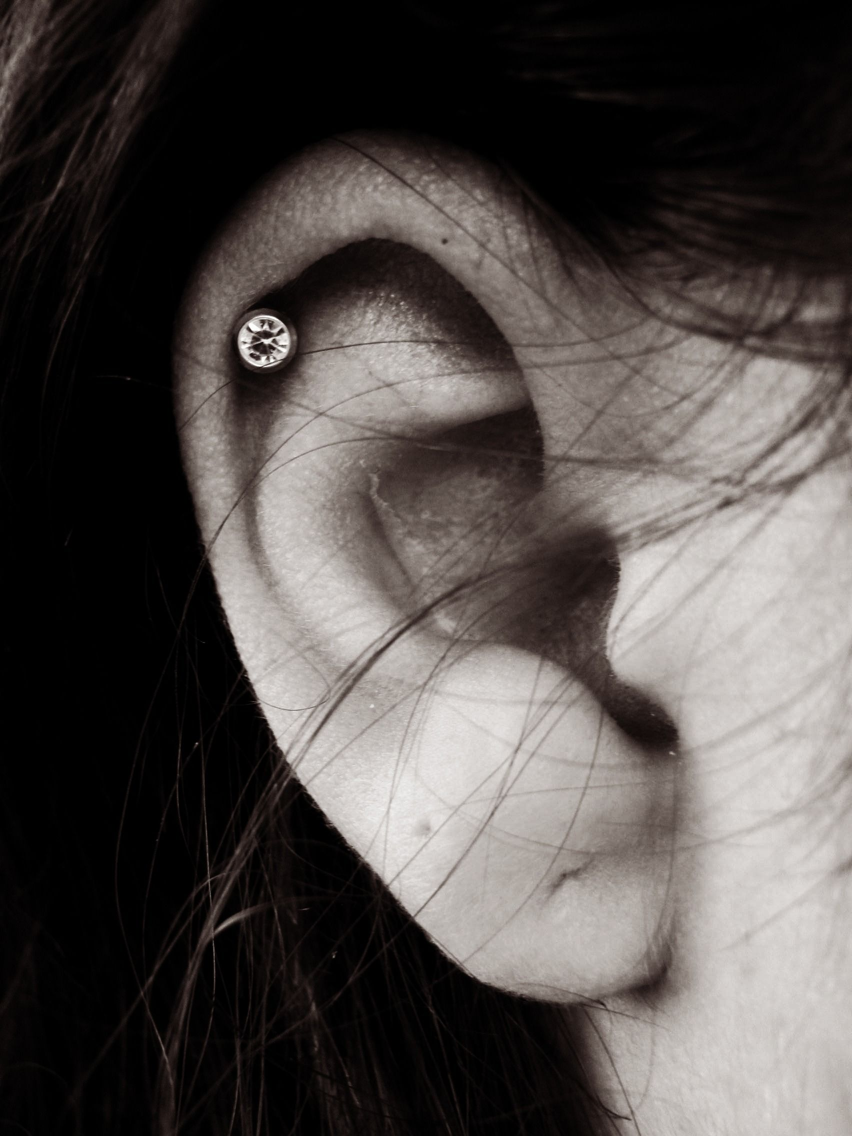 Bump under nose piercing  I want my cartilage pierced That will be my next piercing for sure