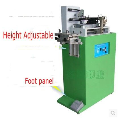 electric one color pad printer machine printing machine for number