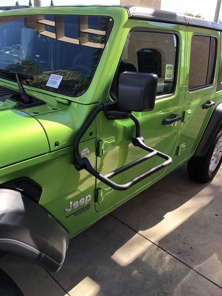Convenient Door Storage Movable Cart Holder For 07-18 Jeep Wrangler JK JL 4dr
