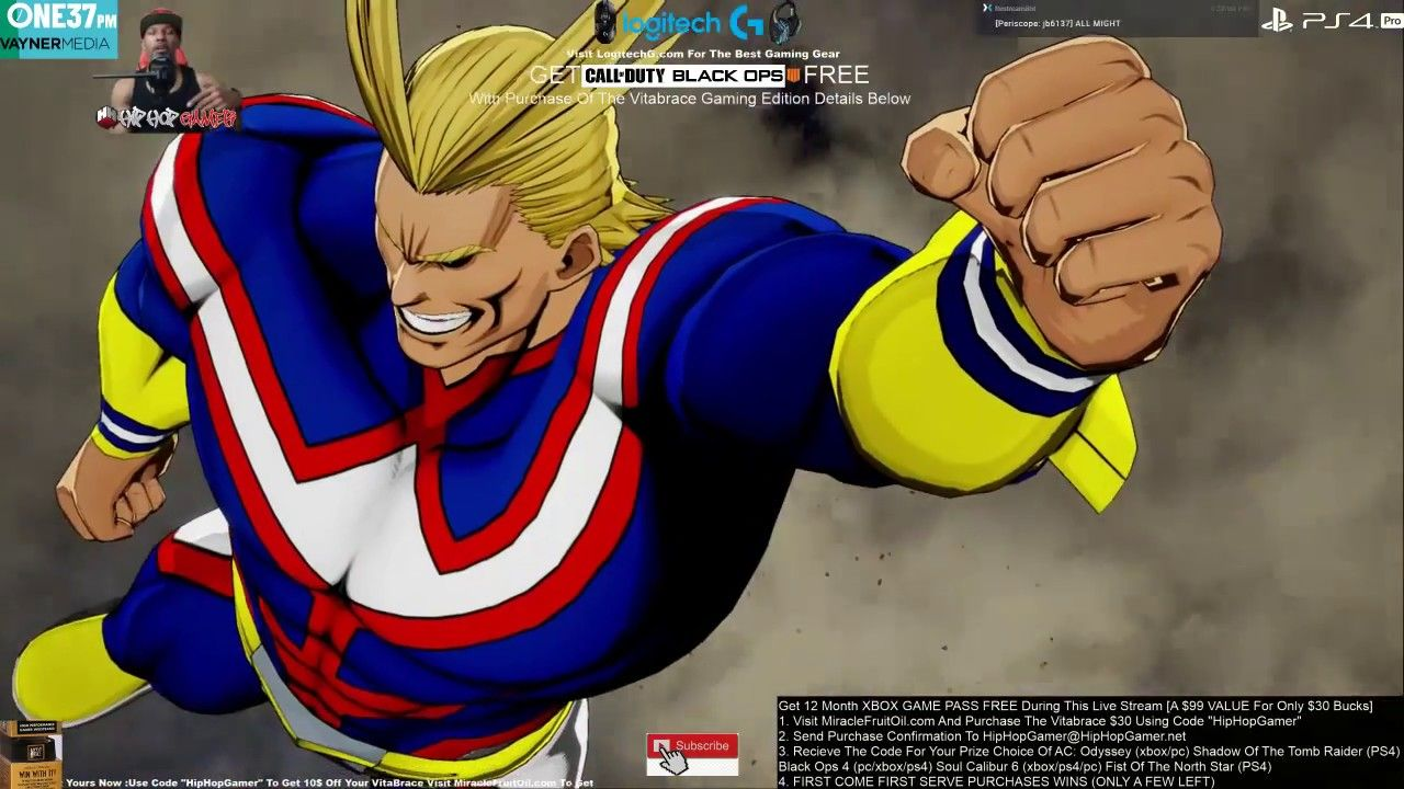 ANIME My Hero One's Justice Review NOWPLAYING PS4 PRO