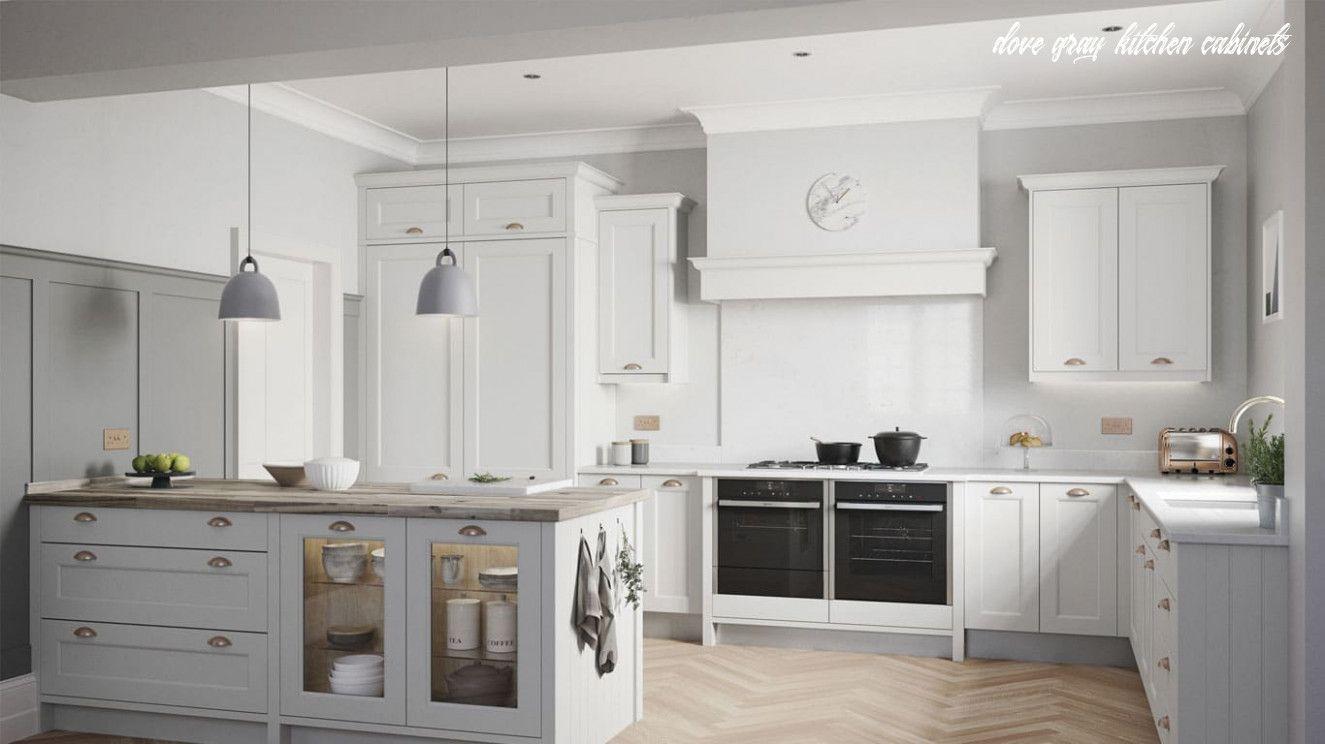 dove grey cabinets