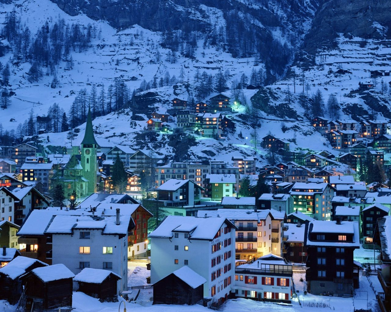 switzerland city snow - Google Search